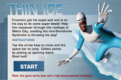 Incredibles - thin ice