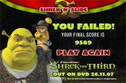 Shrek slide